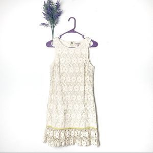 Juicy Couture Crochet Daisy Guipure Floral Dress
